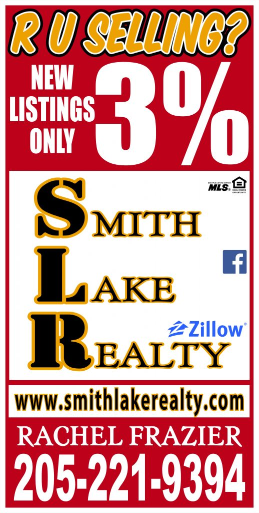 New listings only 3%